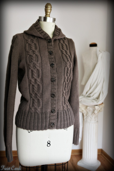 Chic Knits Twist Cardigan