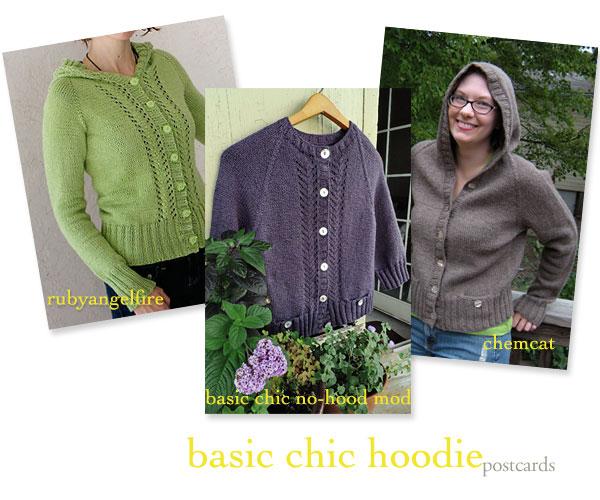 Chic Knits Basic Chic Hoodie