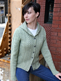 Chic Knits Cassidy Cabled Cardigan