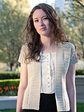 Chic Knits Cinnie Lace Cardigan