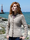Chic Knits Miss BB Cabled Cardigan