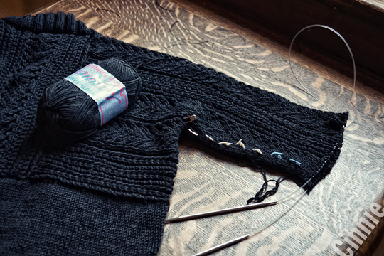 Chic Knits CINNIE hand knitting pattern