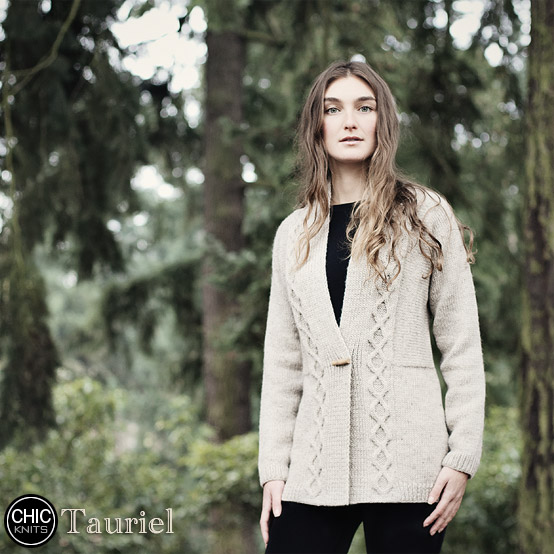 Chic Knits Tauriel, chic knits knit blog